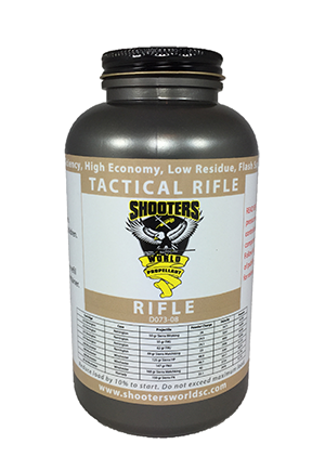 Shooters World Tactical Rifle Reloading Powder