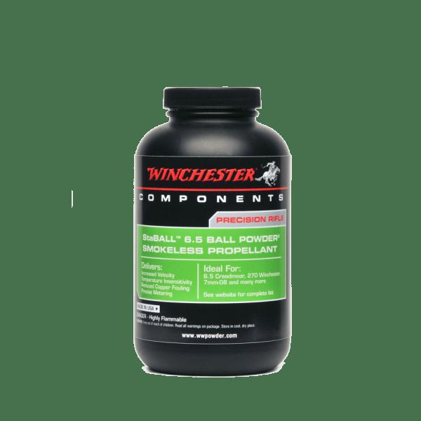 Winchester 6.5 StaBall Reloading Powder
