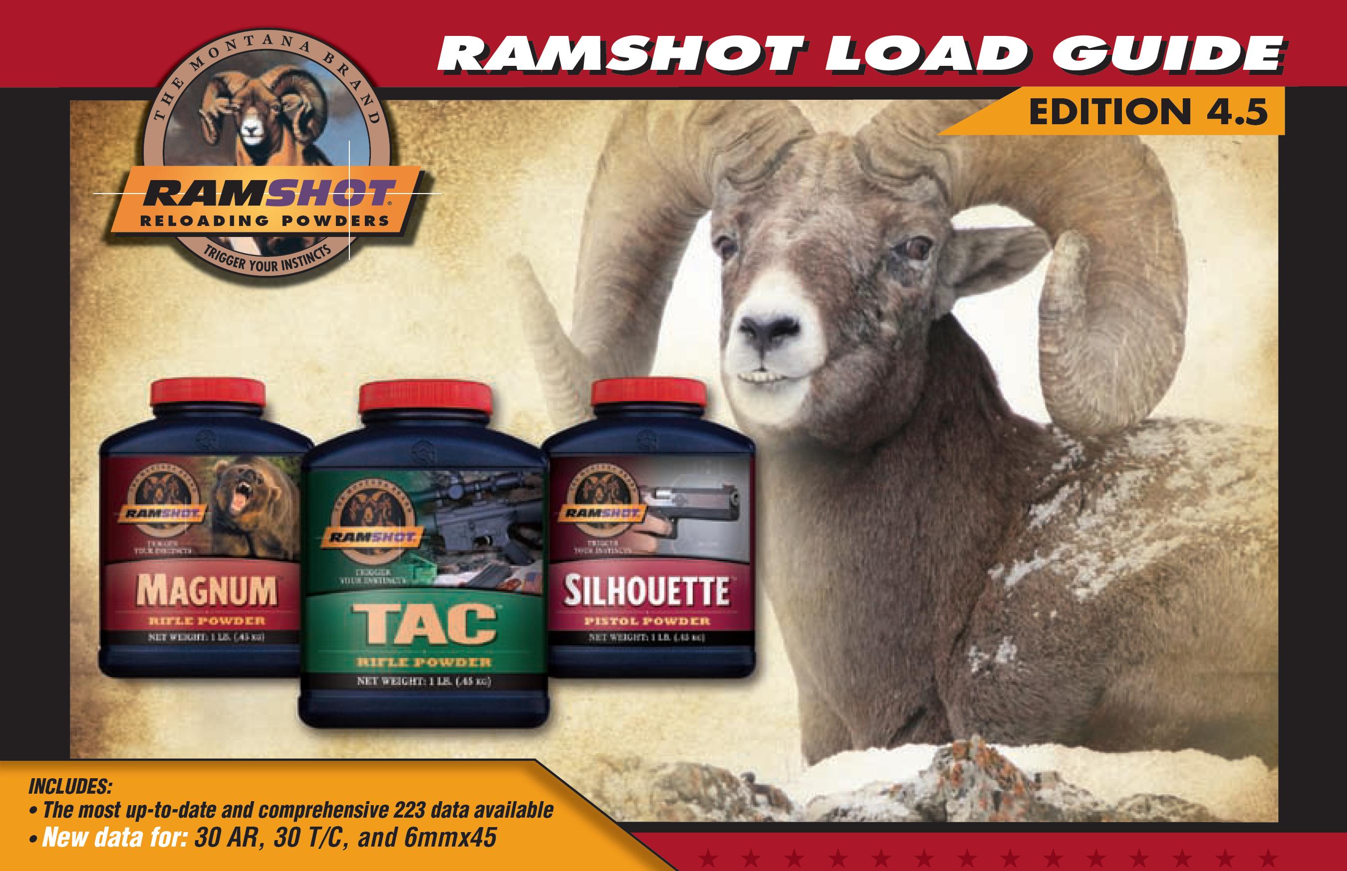 Ramshot Reloading Guide 2015