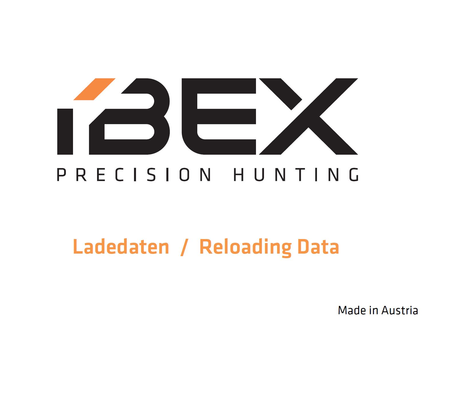 IBEX Precision Hunting Reloading Guide 2021