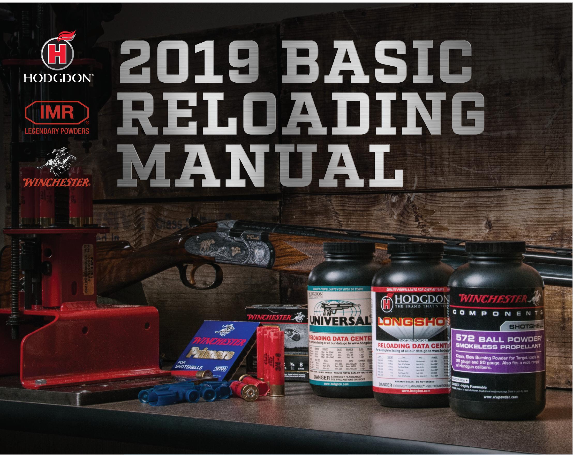 Hodgon Reloading Guide 2019