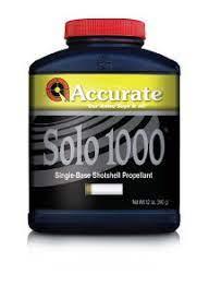 Accurate Solo 1000 Reloading Powder